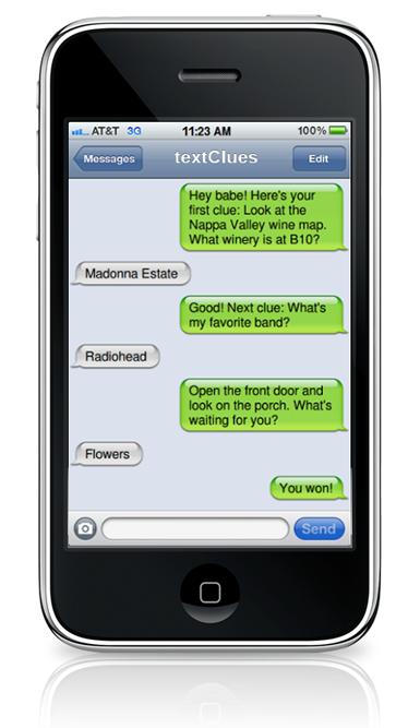 Make Text Message SMS Scavenger Hunts Clues