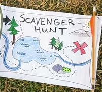 kid's scavenger hunt